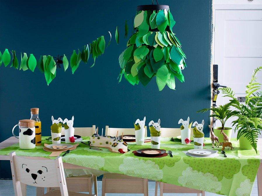 fiesta infantil jungla de ikea