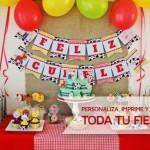 Decoraciones imprimibles para fiestas en Todobonito.com