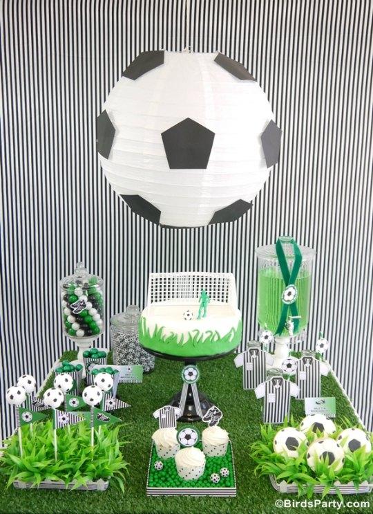 Cumplea os infantil f tbol decoraci n fiestas for Regalos para fiestas de cumpleanos infantiles