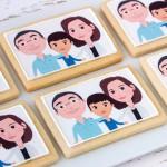 Galletas con ilustraciones personalizadas