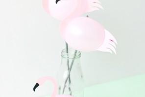 Cómo hacer Flamencos con globos