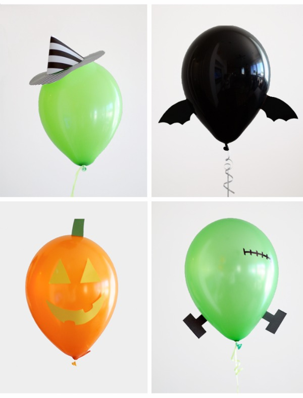 Decoración de globos para Halloween - DECORACIÓN FIESTAS