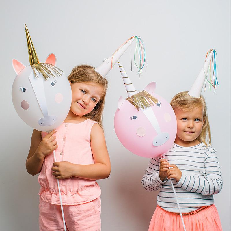 globos unicornio diy decoraci n fiestas. Black Bedroom Furniture Sets. Home Design Ideas