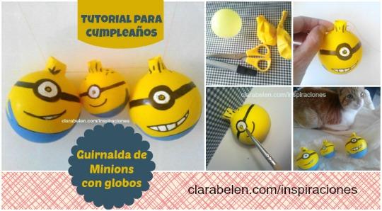 guirnalda-Minions