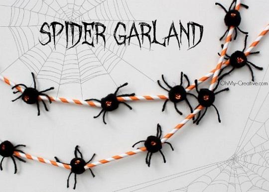 guirnalda-araña