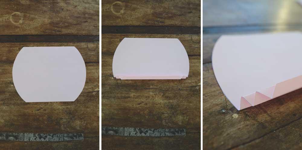 Como hacer guirnalda de corazones de papel
