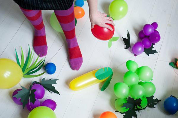 Guirnaldas de globos paso a paso — Decoracion Fiestas