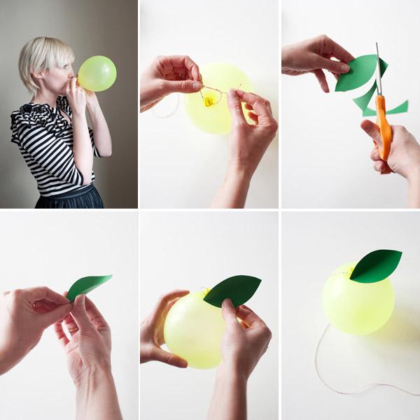 Guirnaldas de globos paso a paso decoraci n fiestas for Decoracion de globos para fiestas infantiles paso a paso
