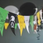 Guirnalda Star Wars para imprimir