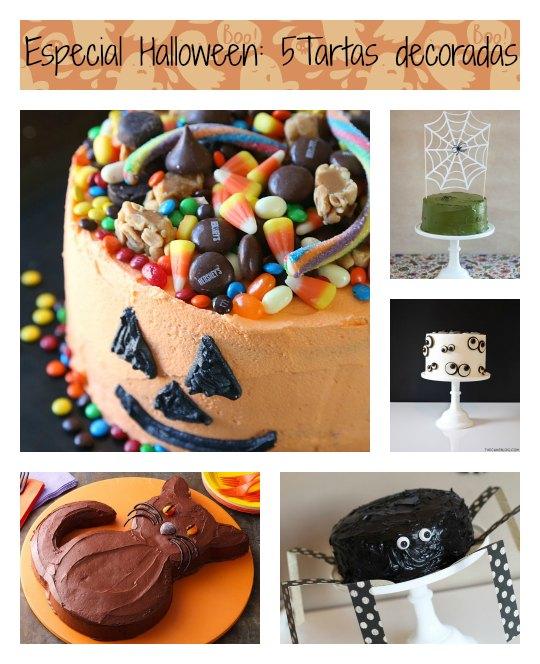 5 Tartas decoradas de temática Halloween