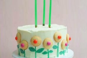 Decoración fácil para tartas