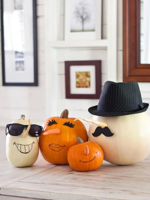 Ideas para decorar calabazas Halloween