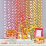 Decorar fiestas con cadenas de papel