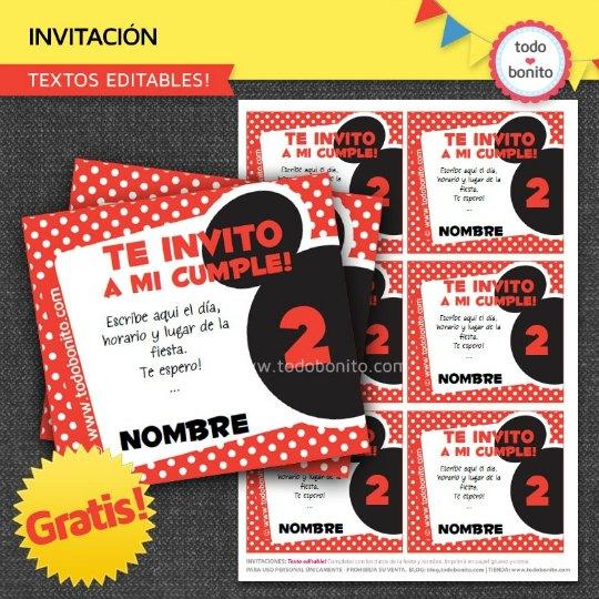 invitaciones-mickey