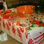 Ideas para decorar un mantel de Hallowen