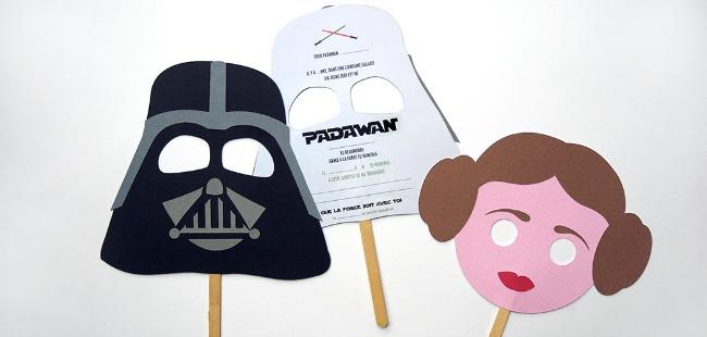 Máscaras de Star Wars para imprimir - DECORACIÓN FIESTAS