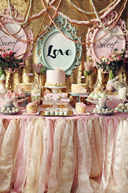 5 mesas de dulces elegantes decoraci n fiestas for Fiestas elegantes decoracion