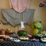 Mesa de buffet Pirata
