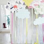 Nubes de papel inspiración