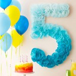 DIY ideas para la decoración de fiestas de cumpleaños