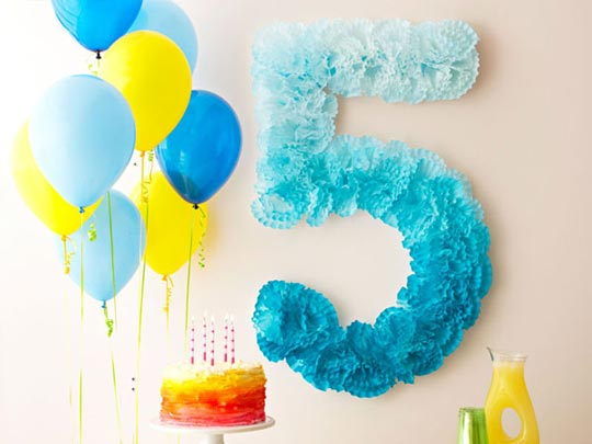 Números Para Fiestas Como Hacer Números Para Fiestas Y