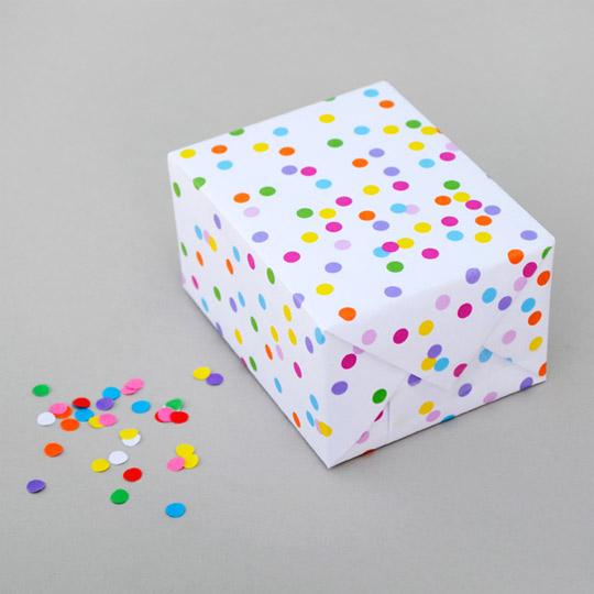 Papel Confeti para imprimir