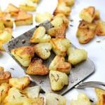 Patatas con forma de corazón