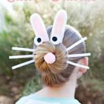 Peinado conejo de Pascua