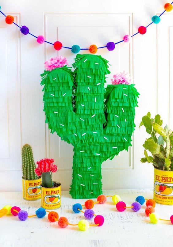 Piñata Cactus DIY