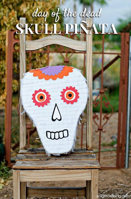 Piñata Calavera, ideal para Halloween