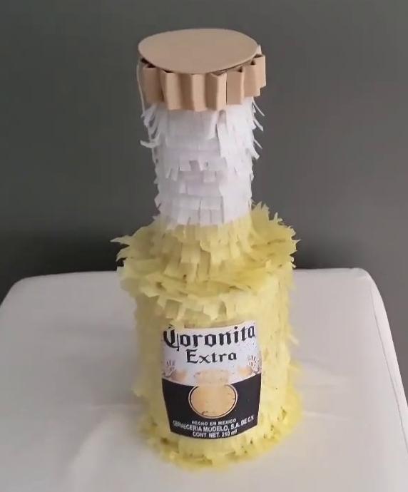 Piñata cerveza