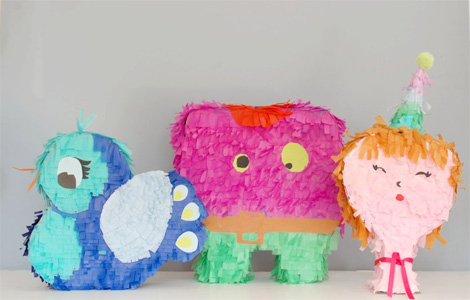 Piñatas infantiles caseras