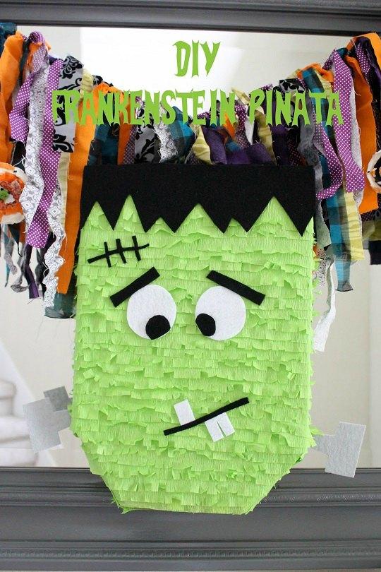DIY Piñata Frankenstein