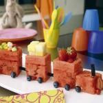 Recetas infantiles veraniegas: Tren de sandía