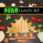 Sandwich con forma de Dinosaurio