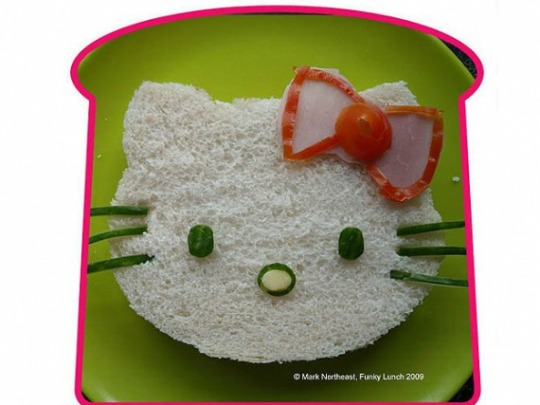 Sandwich Hello Kitty