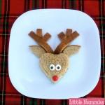 Recetas navideñas: Sandwich con forma de Reno