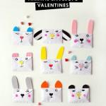 Creativos sobres para felicitar San Valentín