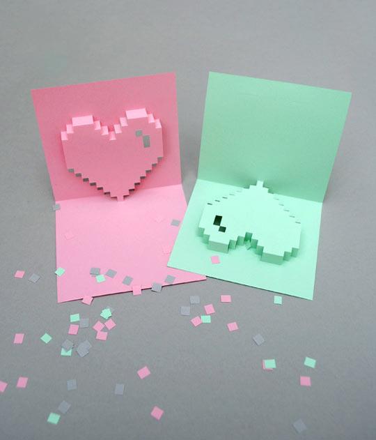 Tarjeta San Valentin original