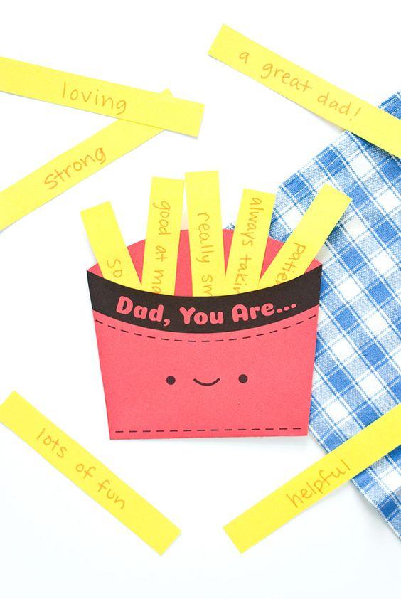 Tarjetas Día del Padre manualidades