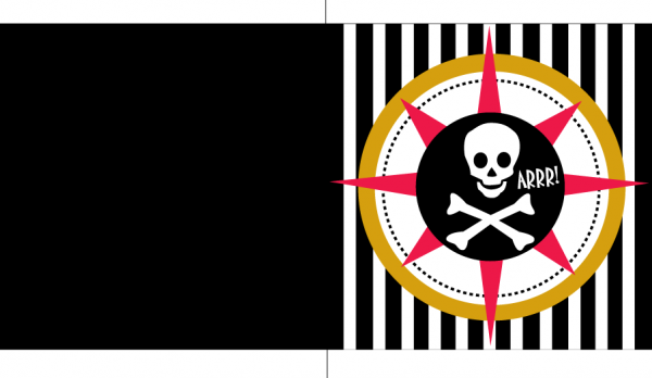 Invitación Fiesta Pirata Para Imprimir Gratis