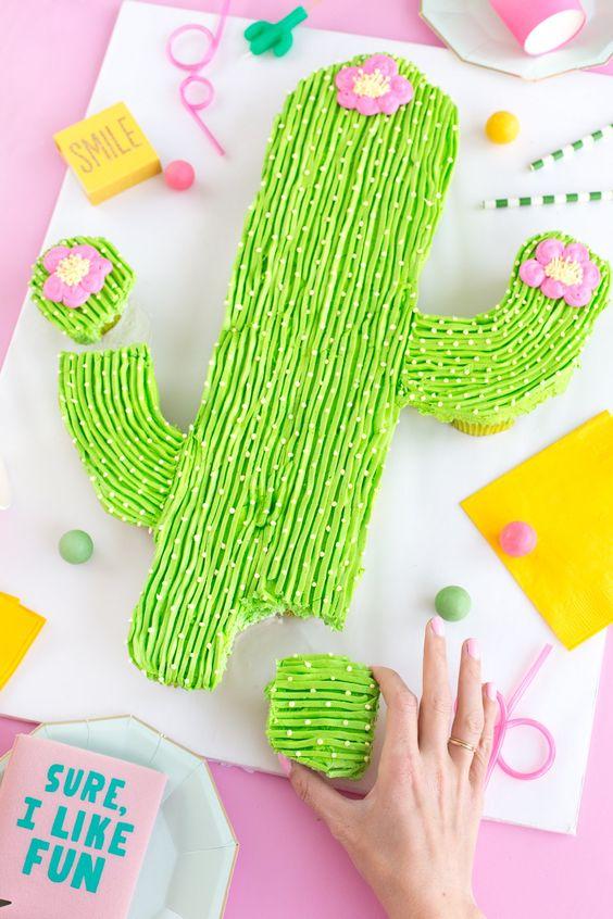tarta cactus