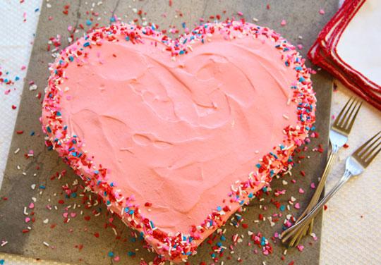 Como hacer un pastel con forma de corazón