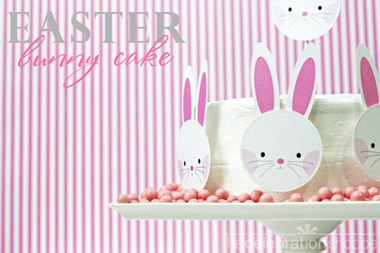 Como decorar una tarta de Pascua