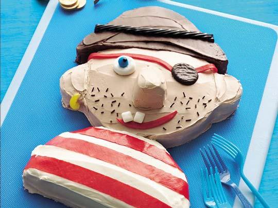 Tarta para cumpleaños Pirata