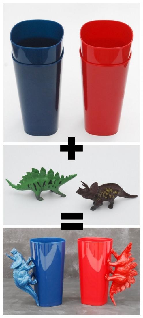 vasos-dinosaurios-manualidades